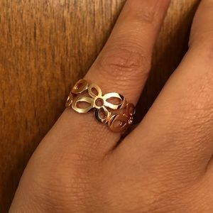 Catherine Angiel Open Flower Ring 14K Rose Gold